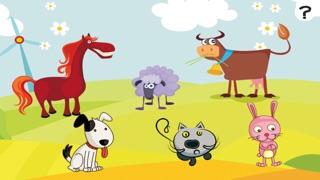 Actif! Jeux Pour Les Enfants Avec Les Animaux de la Ferme: Apprendre de Compter le Nombre 1-10Capture d'écran de 3