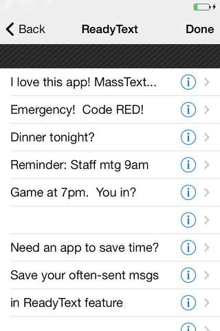Custom Group Text screenshot 3