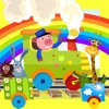 動物動畫與暗影快樂寵物搜索兒童遊戲