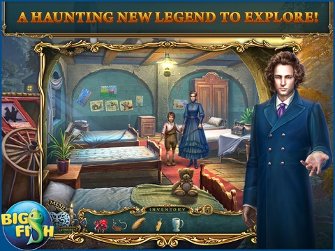 Haunted Legends: The Stone Guest HD - A Hidden Objects Detective Game (Full)