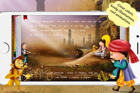 Aladdin and the Magical Lamp by Story Time for Kids screenshot 2