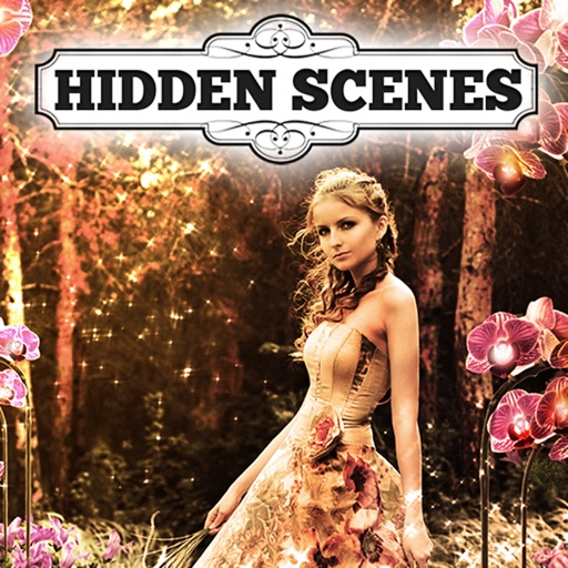 Hidden Scenes - Enchanted Garden iOS App