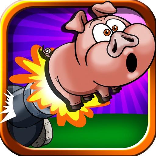 Crazy Cannon Assault Blast - Pig Bombing Skill Challenge iOS App