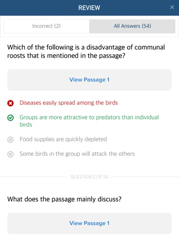 TOEIC Reading Comprehension Test Questions - Practice Passages for the English Exam Screenshot