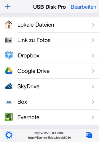 USB Disk Pro for iPhone screenshot 1