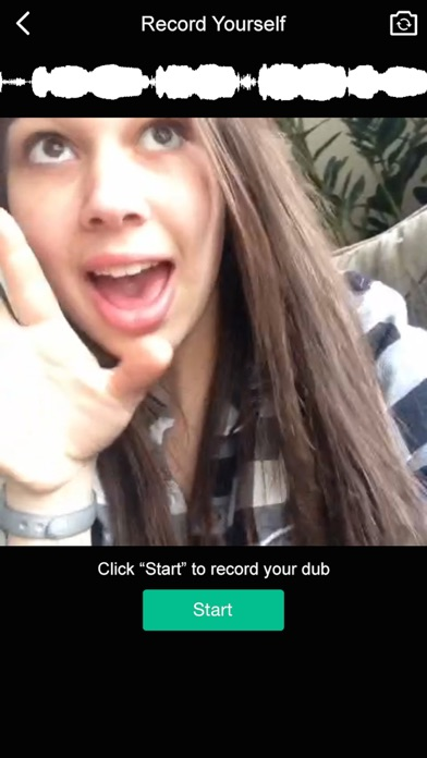 Vdub for dubsmash create funny videos for instagram vine like iphone screenshot 2 ccuart Gallery