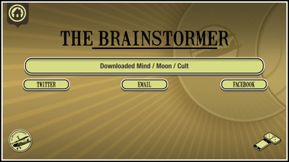 The Brainstormer app
