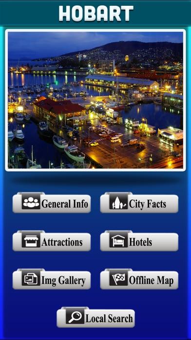 Hobart City Offline Travel Guide screenshot two