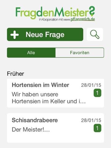 Gartenratgeber  Frag Den Meister - Der Gartenratgeber App Store'da