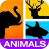 Indovina! Foto Animali (Guess It! Pic Animals) Trivia Gratis Indovinando Gioco di Parola - Decodificare la fauna selvatica nascosti e puzzle di animali da allevamento domestico quiz con la famiglia e gli amici!
