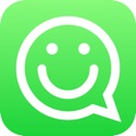 Stickers Free for WhatsApp, Telegram, Kik, GroupMe, Viber, Snapchat, Facebook Messenger, VK, Tumblr, Instagram & WeChat - Emoji & Gif Animated Sticker icon