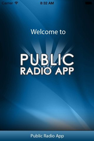 Public Radio App screenshot 1