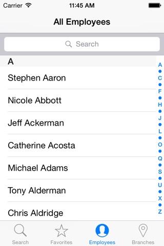 CDFA Directory screenshot 4