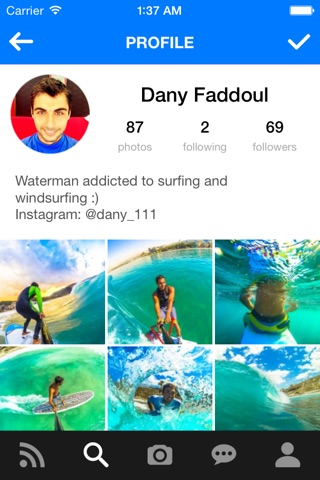 EDGEUNITE | Action Sports Social Network screenshot 1
