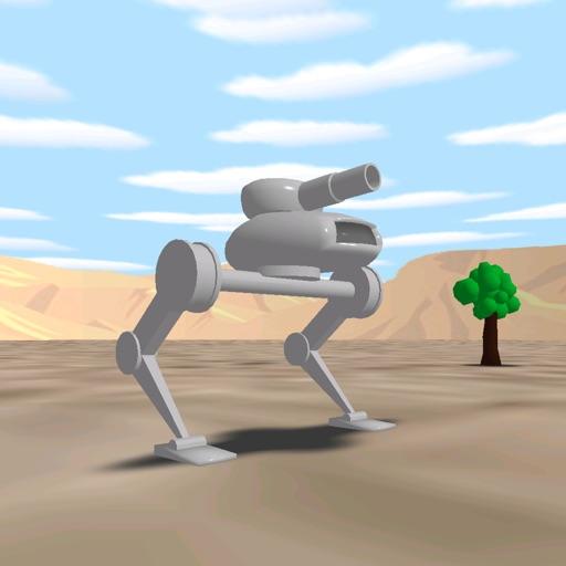 Walkers 3D iOS App