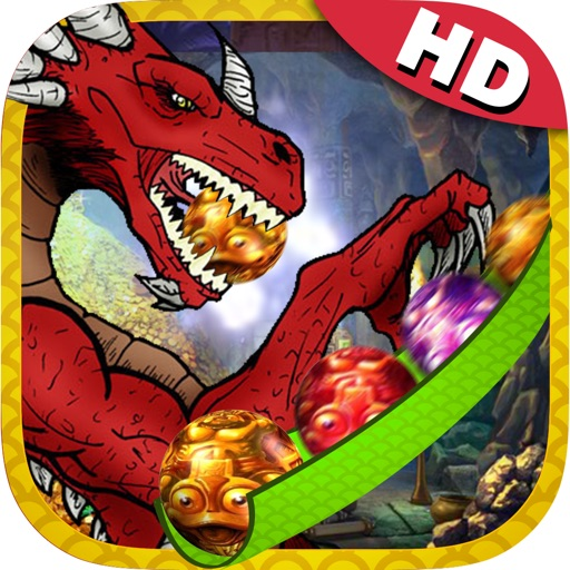 Marble Blast Dragon HD - Amazing Matching Shooting Stones Ball Game Free iOS App