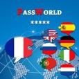 PassWorld - Guide de conversation pour le voyage français/anglais et aussi Allemand, Espagnol, Portugais, Italien, Russe, Néerlandais