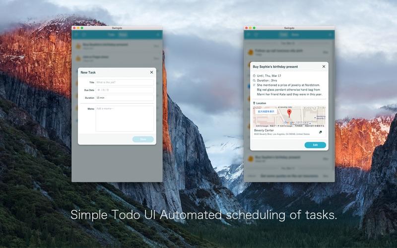 Swingdo Todoとカレンダーのタスク管理アプリ Screenshot