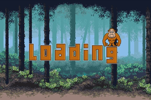 Jump Chimps - A Fun free addictive dodge rocks jumping game experience screenshot 1
