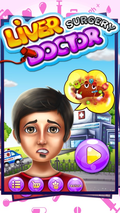 download Liver Surgery Doctor - Little operation surgeon and doctor games for kids appstore review
