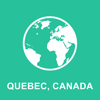 Quebec, Kanada Offline Map : Fur Reisen