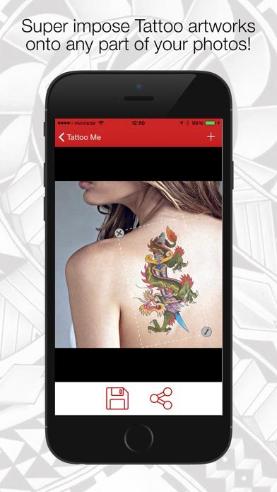download Tatouage Me - Tatouages Poster vos photos et les partager! apps 1