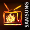Samsung TV Fireplace