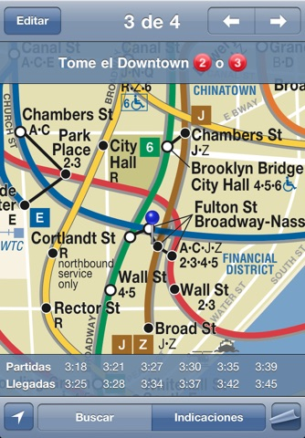 iTrans NYC Subway screenshot 2
