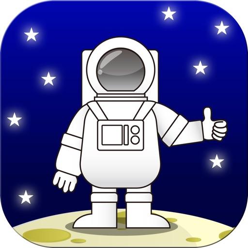 Walk to the Moon iOS App