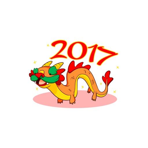 Sticker Chinese New Year di Maddalena