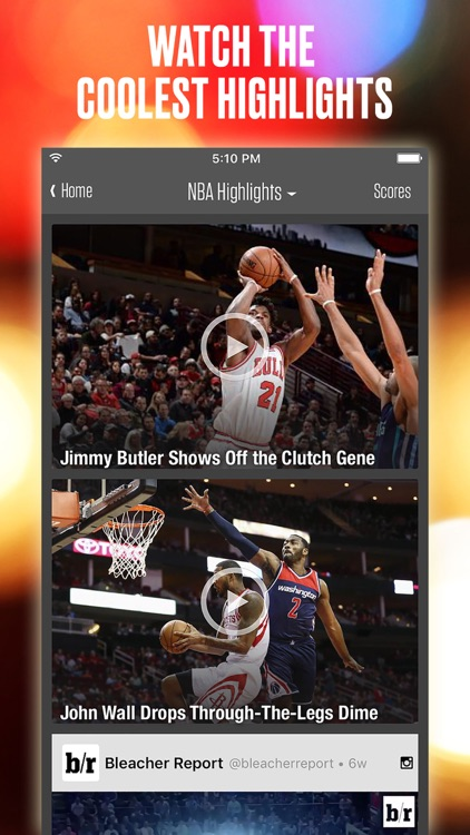 Team Stream: Sports news, scores, & highlights by Bleacher Report