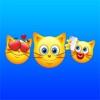 Chat Emoji - Mignon Kitty émoticône autocollants