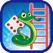 네온 낙서 뱀과 사다리 클래식 게임 : 액션퍼즐패밀리 과 아이들을위한 퍼즐