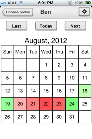 Chronic Pain Diary Lite screenshot 1