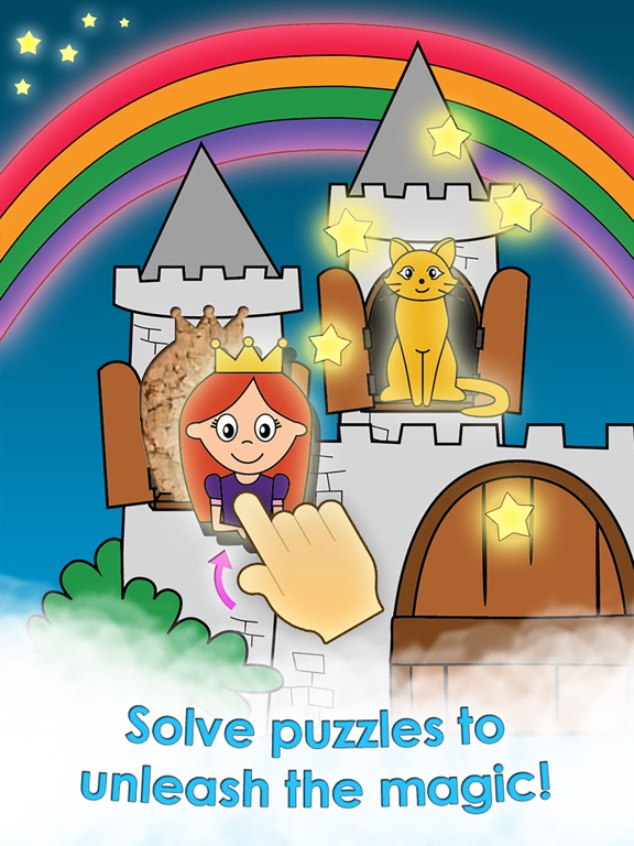 Screenshot #1 for Princess Games for Girls Games Unicorn Kids Puzzle