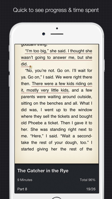 YiBook pro - epub txt  reader Screenshots