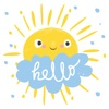 Cute Weather Emoji Icons Sticker Pack