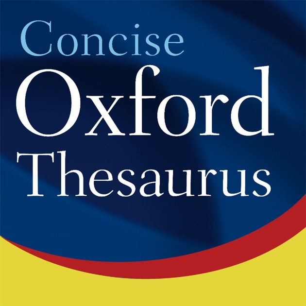 oxford concise thesaurus on the app store