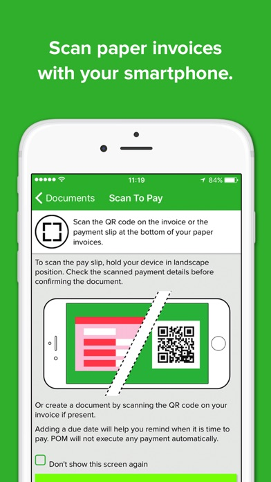 Automated Invoice Processing Word Pom  Mobile Payments On The App Store Free Invoice Template Printable Word with What Is An Invoice Price On A New Car Word Iphone Screenshot  Plate Pass Receipt Excel