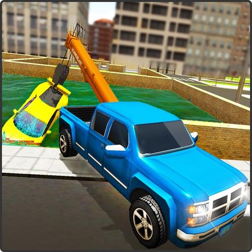 Tow Truck Car Transporter Sim iOS App
