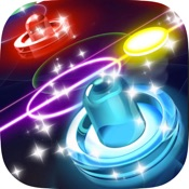 Glow Hockey HD   2 Player Neon Light Air Hockey Hack Gems and Coins (Android/iOS) proof