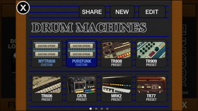 FunkBox Drum Machine screenshot1