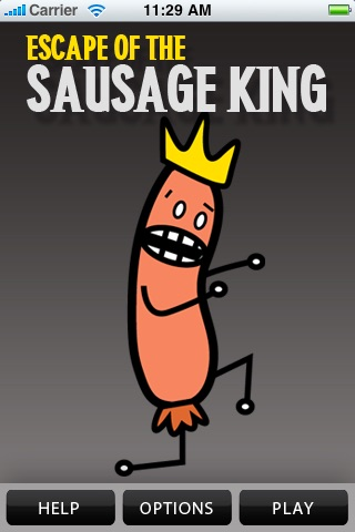 Escape of the Sausage King screenshot 1