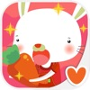 Kids Animal Game - Feed the Rabbit, Play & Learn