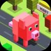 Amazing Pig Cubic Town Dasher logo
