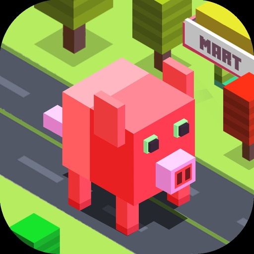 Amazing Pig Cubic Town Dasher images
