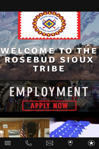 Rosebud Sioux Tribe screenshot 1