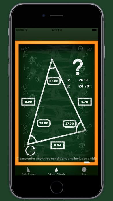 Screenshot #5 for Trigonometry - scientific calculator