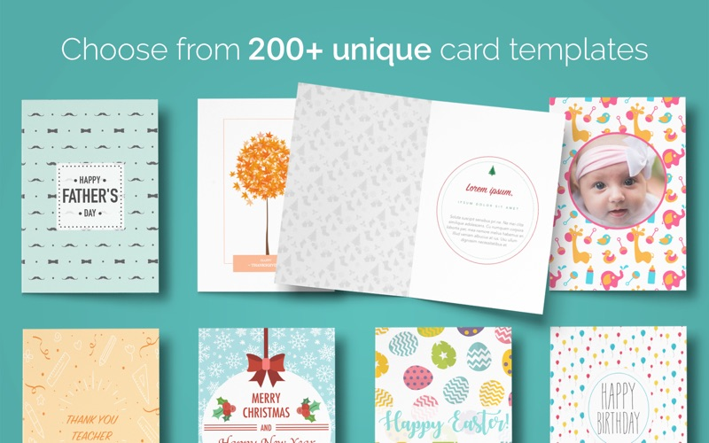 App shopper greeting cards 200 templates for pages for Free greeting card templates for mac