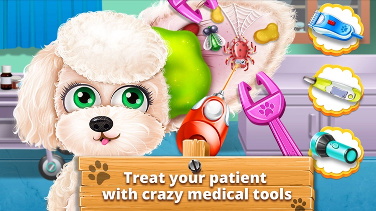 Pet Vet Care Doctor Games Baby Puppies Dog Cat By Bravo Kids Media